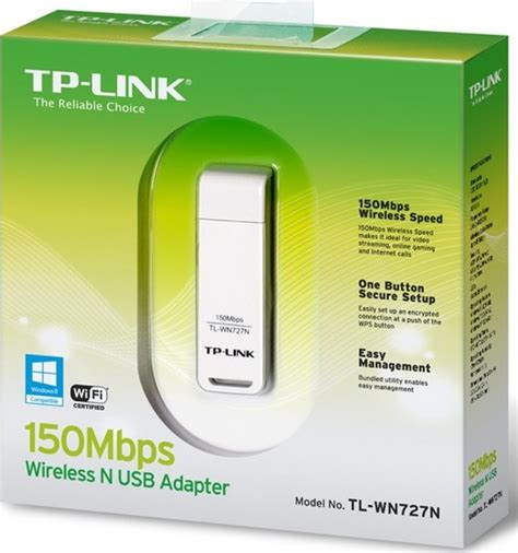 Excellent n speed up to 150mbps brings best experience for video streaming or internet calls. Descargar TP-Link TL-WN727N Driver Linux y Windows 10,8,7 ...
