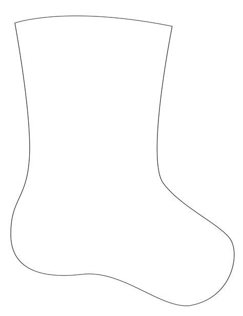 sock template how to make a felt applique