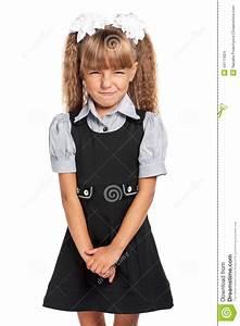 Angry Little Girl Stock Photo - Image: 44111624