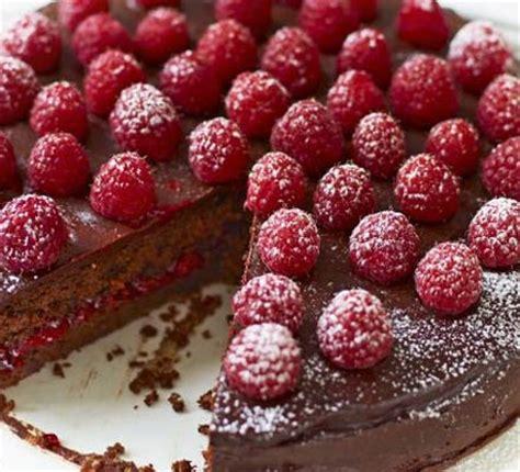 raspberry chocolate torte recipe bbc good food