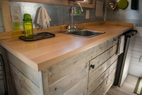 Laminate Countertop With Wood Edge