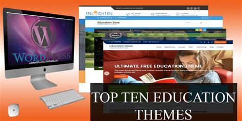 education theme   wordpress sites
