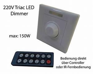 Kann Man Led Dimmen : 230v led dimmer schalter controller fernbedienung f dimmbare led leuchtmittel ebay ~ Markanthonyermac.com Haus und Dekorationen