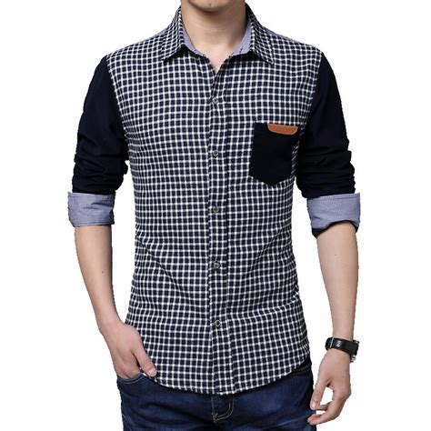mens designer clothes winter 2015 business shirt stitching 5xl mens designer clothes sleeved luxury