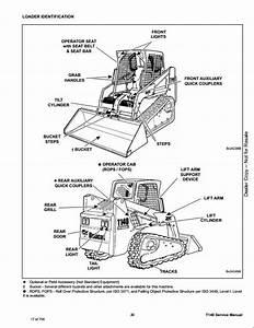 Bobcat T140 Compact Track Loader Service Repair Workshop Manual A3l720001