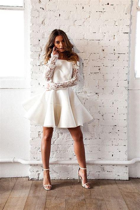 robe mariage civil courte meryl suissa