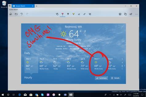 uusi windows  paeivitys tuo mm paremmat kuvakaappaukset