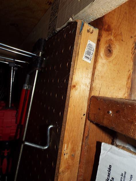 attach furring strips  drywall  pegboard