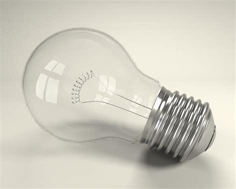 empty light bulb free light bulb 3d model