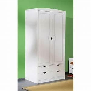 Armoire Chambre Blanche : armoire chambre blanche ~ Teatrodelosmanantiales.com Idées de Décoration