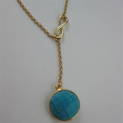 22k Gold plated over Sterling Silver Necklace - Bezel