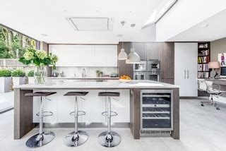 concrete cabinets kitchen dining in modern kitchen by fresh photo house 2420