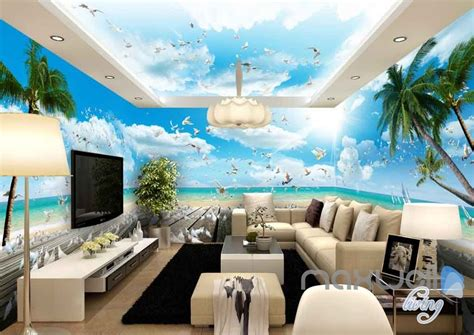 3d Wallpapers For House Walls by 3d Decking Pegion Entire Room Wallpaper Wall Murals