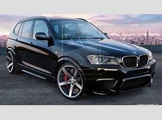 Rendering BMW F25 X3 M autoevolution