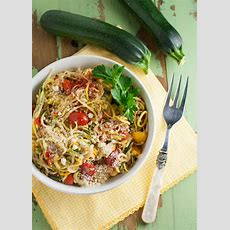Zucchini Noodles With White Wine Sauce  The Pasta Shoppe