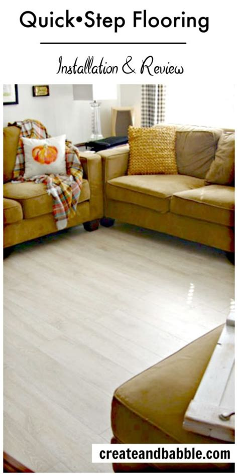 quick step flooring installation review