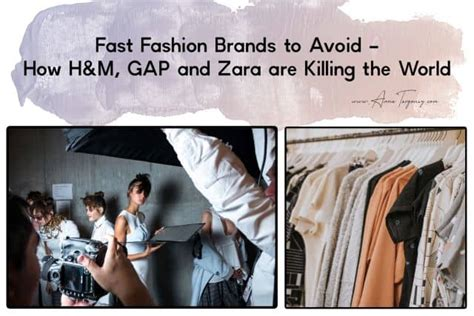 fast fashion brands  avoid hm gap  zara