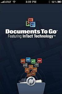 Dataviz documents to go premium 31 iphone os review for Documents to go iphone