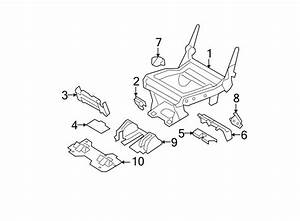 Ford Expedition Seat Frame Trim Panel  Front   2nd Row