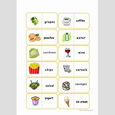 Food Flashcards Worksheet  Free Esl Printable Worksheets Made By Teachers