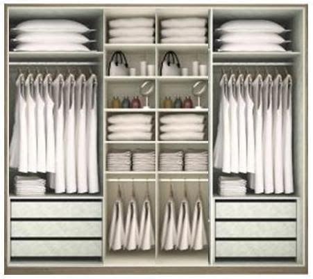organizing a small bedroom modelo de roupeiro f r home home decor in 2019 16575 | 493ae16575fa803d9f00de1d13f5a14b