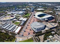 Sydney Aerial Photography Sydney Olympic Park, Homebush Bay