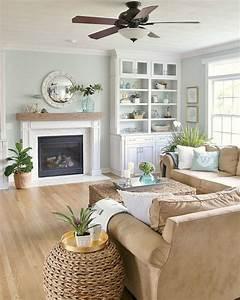 77, Comfy, Coastal, Living, Room, Decorating, Ideas