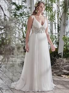 flattering wedding dresses for curvy brides love maggie With wedding dresses for short curvy brides