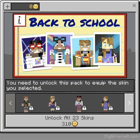 school pack  minecraft
