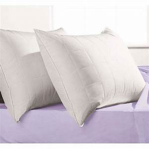 microfiber quilted down alternative pillow walmartcom With best down alternative pillows
