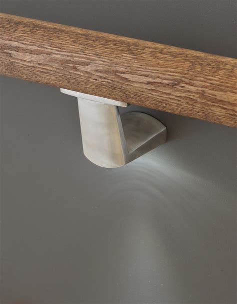 Aluminum Dining Room Chairs by Modern Handrail Brackets