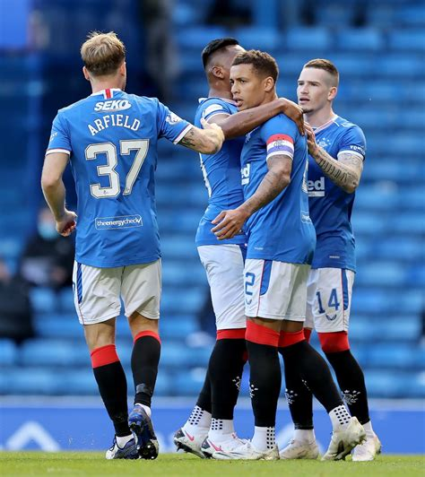 Rangers vs Ross County In Pictures - Daily Record