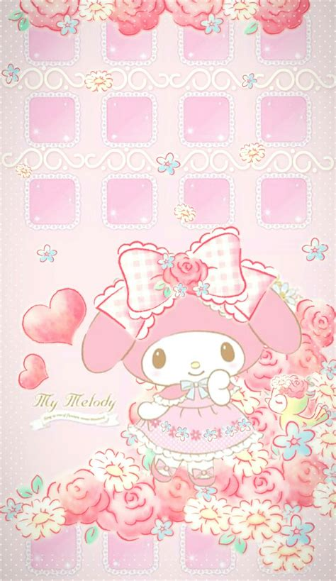 26+ My Melody Wallpaper Iphone Hd  PNG