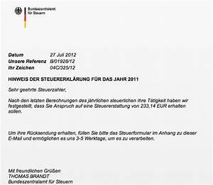 Steuern Für Mieteinnahmen : post vom bundeszentralamt f r steuern achtung betr ger unterwegs ~ Frokenaadalensverden.com Haus und Dekorationen
