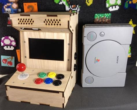 build arcade cabinet with pc build your own mini arcade cabinet with raspberry pi 5