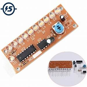 Ne555 Cd4017 Light Water Flowing Light Led Module Diy