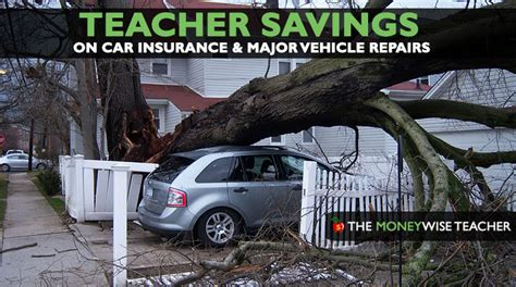 Teacher Savings On Car Insurance And Vehicle Repairs