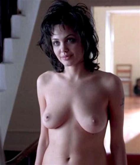 sexy brunette angelina jolie sucking cock for cum pichunter