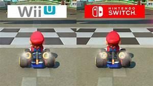Mario Kart Wii U : mario kart 8 switch vs wii u graphics comparison comparativa youtube ~ Maxctalentgroup.com Avis de Voitures