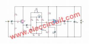 Active Bass Boost Circuit Using Ic-741