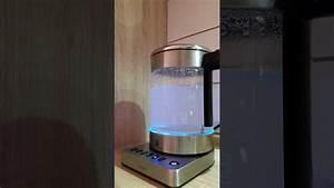 Wasserkocher Glas Wmf : wmf k chenminis glas wasserkocher vario 1 0 l youtube ~ Frokenaadalensverden.com Haus und Dekorationen