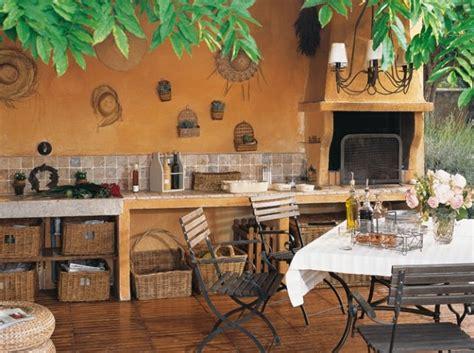 amenagement cuisine exterieure décoration cuisine exterieure