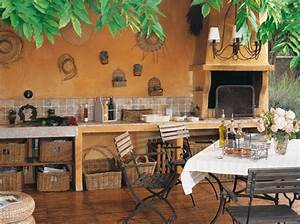 Decoration Murale Exterieur Provencale : d coration cuisine exterieure ~ Nature-et-papiers.com Idées de Décoration