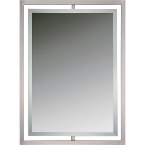 Bathroom Wall Mirrors Brushed Nickel by Brushed Nickel Framed Mirror 15 Misconception About