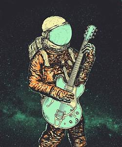 Astronaut In Space Drawing - Pics about space