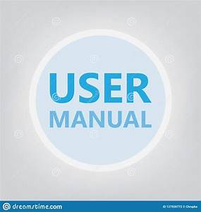 User Manual Concept Stock Vector  Illustration Of Flat