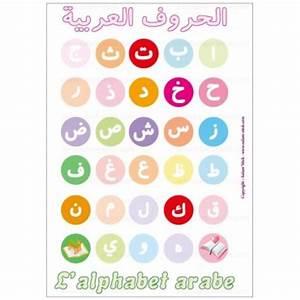poster de l39alphabet arabe With affiche chambre bébé avec cours fleurs de bach