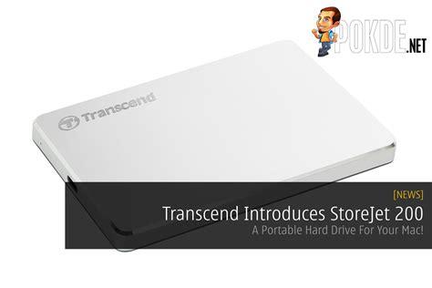 transcend introduces storejet 200 a portable drive