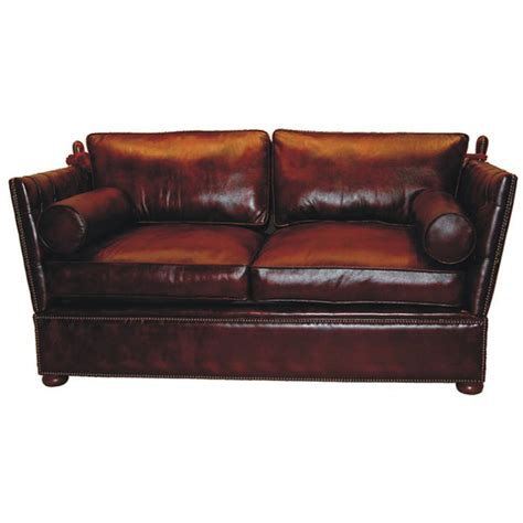 Knoll Settee by Sofa Chesterfield Knoll Settee
