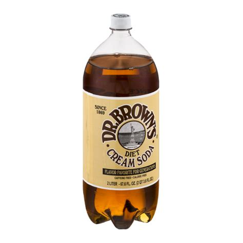 Fill it about halfway full with crushed ice. Dr. Brown's Diet Cream Soda Caffeine Free Reviews 2020